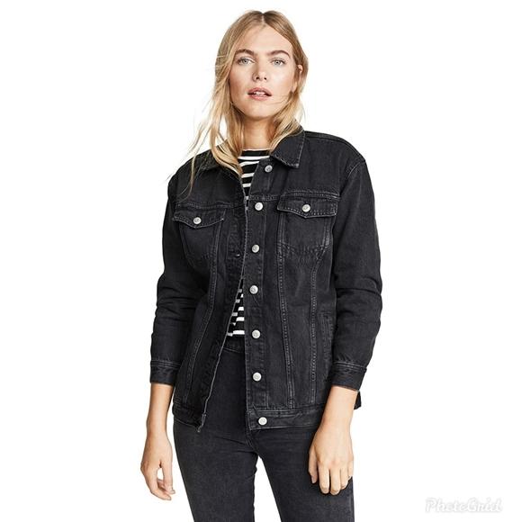 Madewell Oversized Jean Jacket Lunar Wash